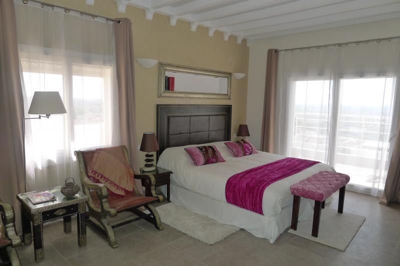 Schlafzimmer 1 Mietobjekt Villa 76643 Agadir