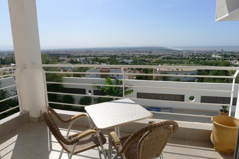 Ausblick vom Balkon Mietobjekt Villa 76643 Agadir