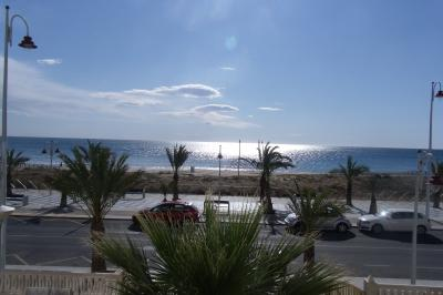 Ausblick von der Terrasse Mietobjekt Appartement 77401 Alicante