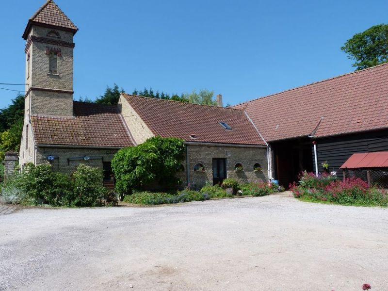 Ausblick aus der Ferienunterkunft Mietobjekt Ferienunterkunft auf dem Land 81031 Sangatte/Blériot-Plage