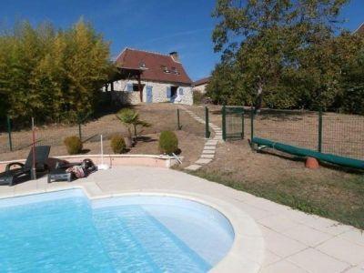 Schwimmbad Mietobjekt Haus 92831 Rocamadour