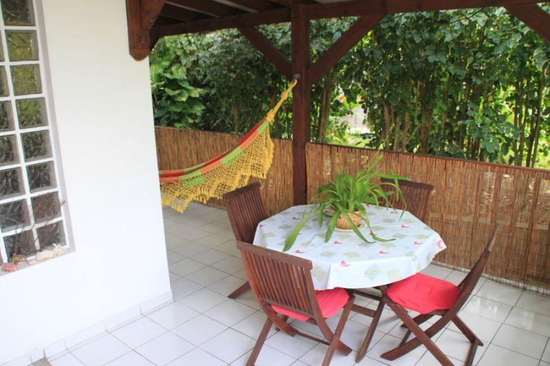 Terrasse Mietobjekt Studio 106679 Gosier (Guadeloupe)
