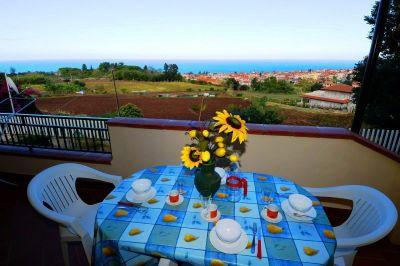 Balkon Mietobjekt Appartement 113235 Tropea