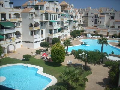 Schwimmbad Mietobjekt Appartement 73121 Roquetas de Mar