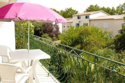 Ausblick vom Balkon Mietobjekt Appartement 89094 Aigues Mortes