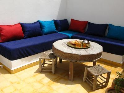 Terrasse 2 Mietobjekt Haus 91222 Essaouira