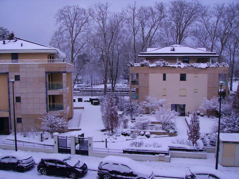 Ausblick vom Balkon Mietobjekt Appartement 94359 Annecy