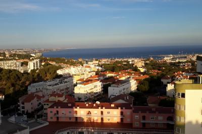 Ausblick vom Balkon Mietobjekt Studio 99842 Cascais