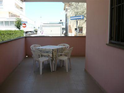Terrasse Mietobjekt Appartement 107534 Bellaria Igea Marina
