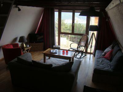 Wohnzimmer Mietobjekt Chalet 115403 Les Angles