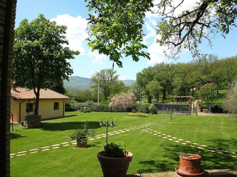 Garten Mietobjekt Villa 116579 Anghiari