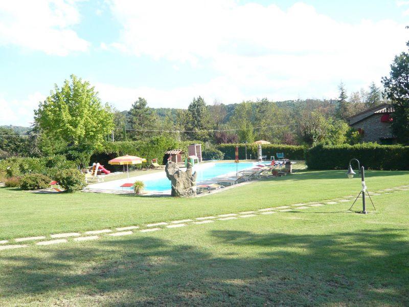 Schwimmbad Mietobjekt Villa 116579 Anghiari