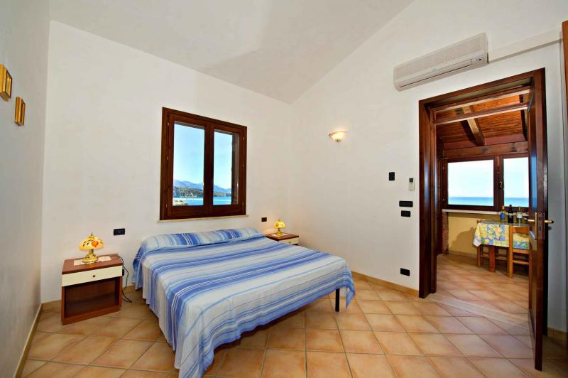 Schlafzimmer Mietobjekt Haus 67481 Castellammare del Golfo