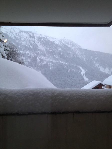 Ausblick von der Terrasse Mietobjekt Appartement 72684 Vaujany