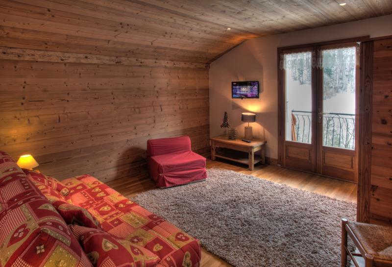 Schlafzimmer 1 Mietobjekt Appartement 72766 La Clusaz
