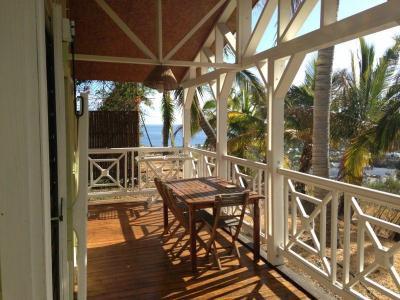 Ausblick von der Terrasse Mietobjekt Ferienunterkunft auf dem Land 79722 Saint Gilles