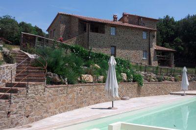 Schwimmbad Mietobjekt Ferienunterkunft auf dem Land 84892 Siena