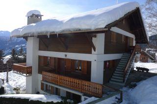 Ausblick vom Balkon Mietobjekt Appartement 91574 Verbier