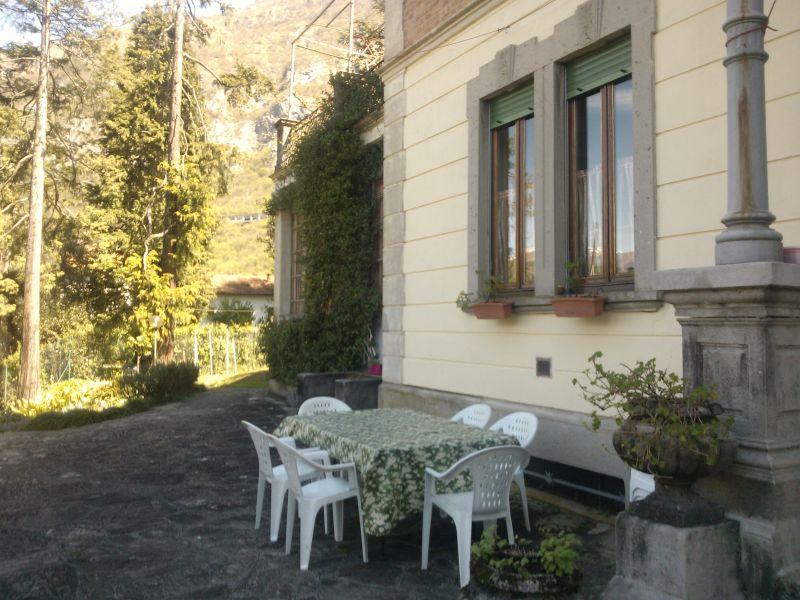 Terrasse Mietobjekt Appartement 94010 Lierna