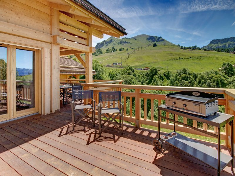 Terrasse 2 Mietobjekt Chalet 94809 Le Grand Bornand