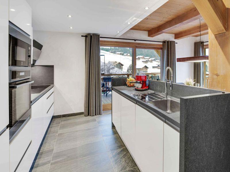 offene Küche 2 Mietobjekt Chalet 94809 Le Grand Bornand