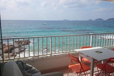Ausblick aus der Ferienunterkunft Mietobjekt Studio 95253 Ajaccio