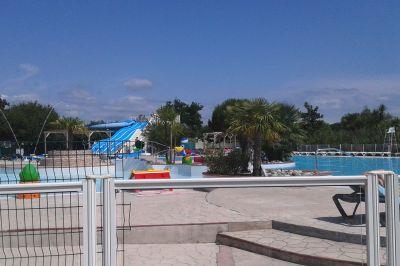 Schwimmbad Mietobjekt Mobil-Home 102044 Biscarrosse