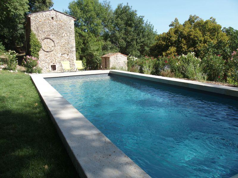 Schwimmbad Mietobjekt Ferienunterkunft auf dem Land 108587 Uzès