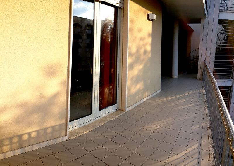 Ausblick von der Terrasse Mietobjekt Appartement 108787 Otranto