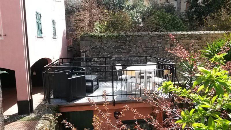 Ausblick von der Terrasse Mietobjekt Appartement 108814 Levanto