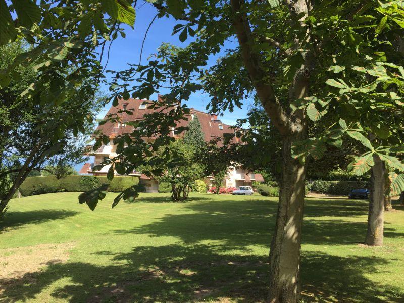 Ausblick aus der Ferienunterkunft Mietobjekt Appartement 112240 Trouville sur Mer