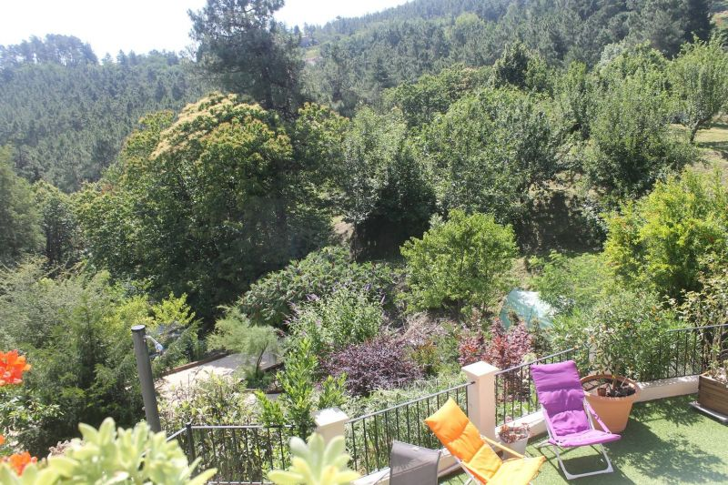 Ausblick vom Balkon Mietobjekt Ferienunterkunft auf dem Land 117149 Alès