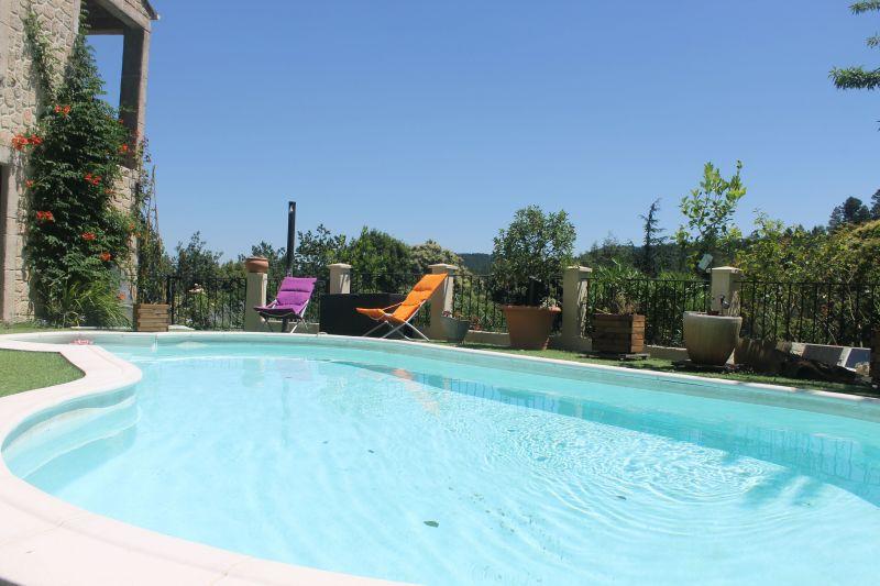 Schwimmbad Mietobjekt Ferienunterkunft auf dem Land 117149 Alès