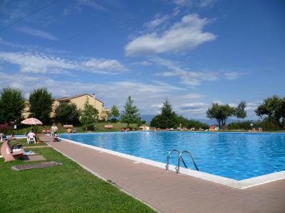 Schwimmbad Mietobjekt Appartement 63981 Manerba del Garda