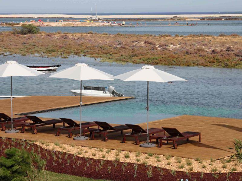 Schwimmbad Mietobjekt Appartement 86358 Olhão