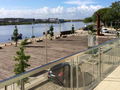 Ausblick vom Balkon Mietobjekt Appartement 87313 Vila do Conde