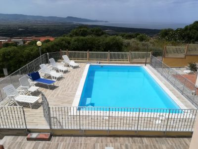 Schwimmbad Mietobjekt Appartement 92351 Badesi