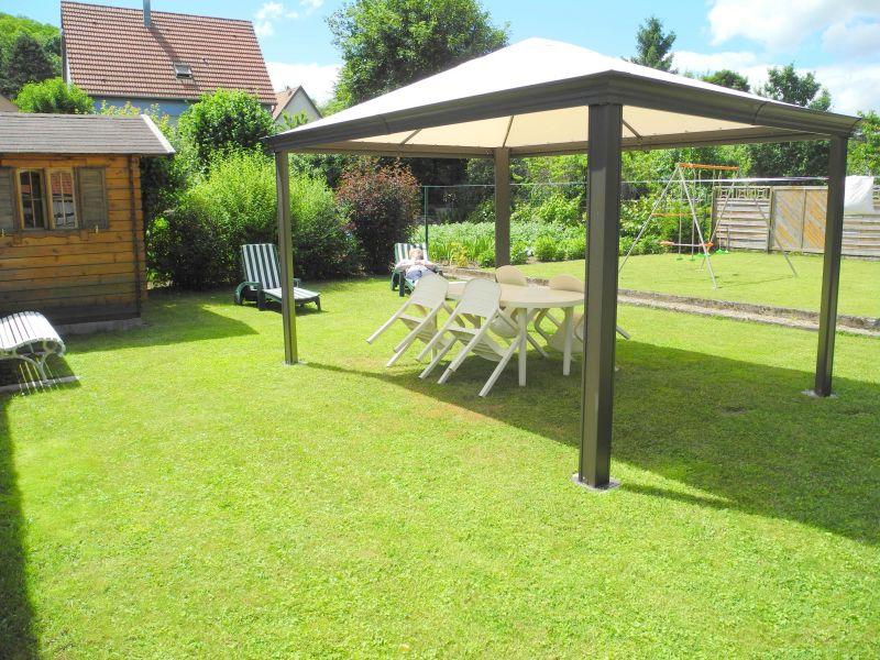 Garten Mietobjekt Ferienunterkunft auf dem Land 96647 Bollwiller