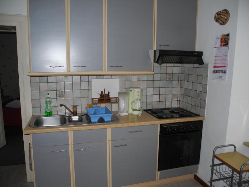offene Küche Mietobjekt Ferienunterkunft auf dem Land 96647 Bollwiller