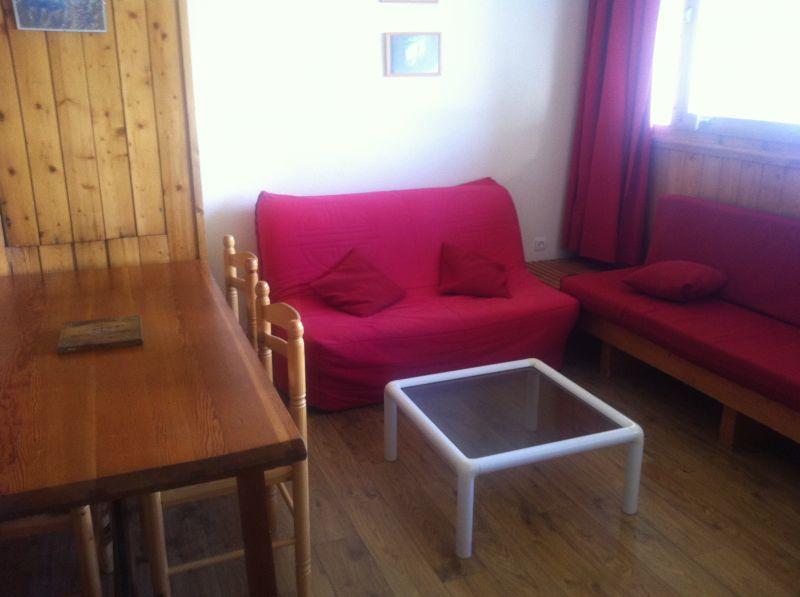 Wohnzimmer Mietobjekt Appartement 245 Les Arcs