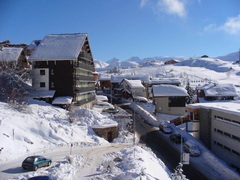 Ausblick aus der Ferienunterkunft Mietobjekt Appartement 64 Alpe d'Huez