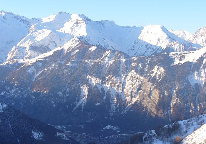 Ausblick vom Balkon Mietobjekt Appartement 64 Alpe d'Huez