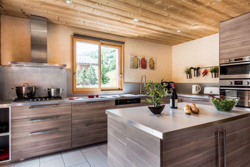 offene Küche Mietobjekt Chalet 100576 Les Menuires