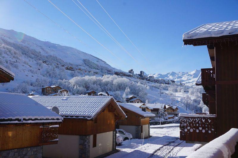 Ausblick vom Balkon Mietobjekt Chalet 100576 Les Menuires