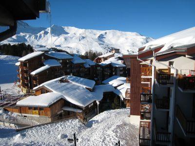 Ausblick vom Balkon Mietobjekt Appartement 107087 La Plagne