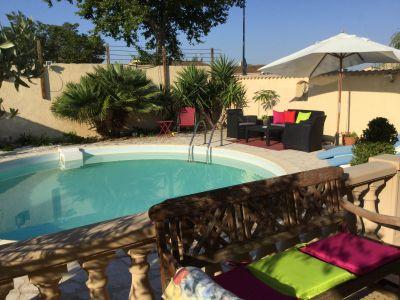 Garten Mietobjekt Villa 111517 Avignon