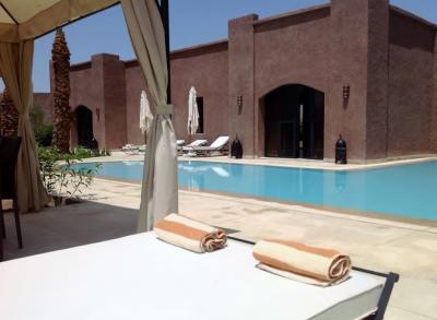 Ausblick aus der Ferienunterkunft Mietobjekt Villa 75429 Marrakesch