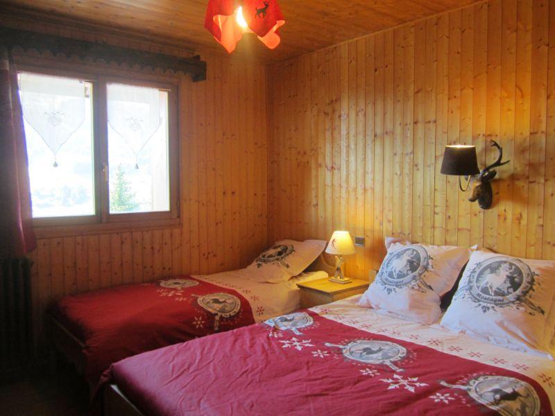 Schlafzimmer 1 Mietobjekt Chalet 80003 Les Gets