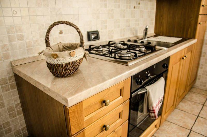 Kochnische Mietobjekt Appartement 86799 Bionaz