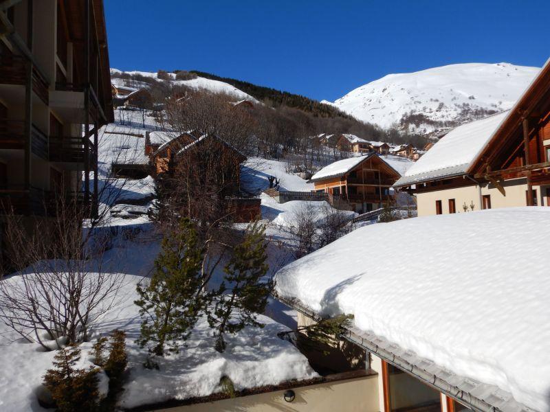 Ausblick vom Balkon Mietobjekt Appartement 92317 Valloire